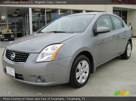 grey nissan sentra magnetic gray 2009 nissan sentra 2 0 charcoal interior