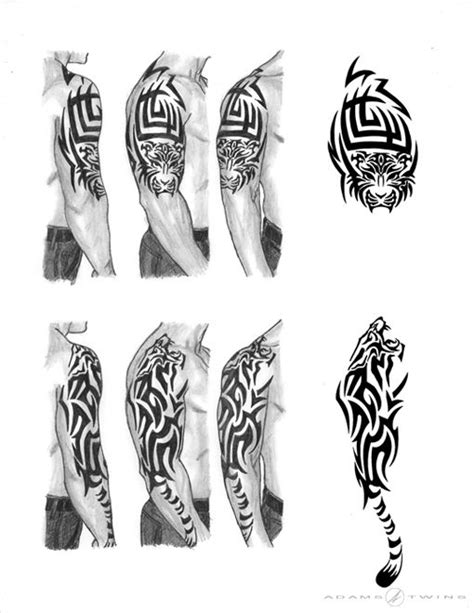 tattoo ink didn t take a tribal tiger tattoo a friend wanted but didn t know what