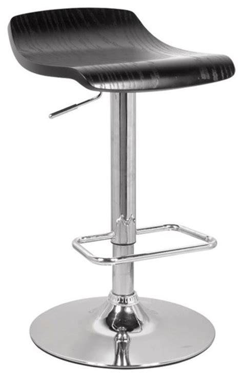 Bar Stools Black And Chrome by Holt Adjustable Stool Black And Chrome