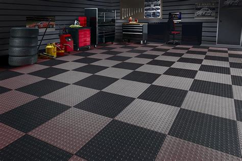 Garage Floor Systems by Closet Works Garage Floor Systems Tiles And Epoxy Floor Coating