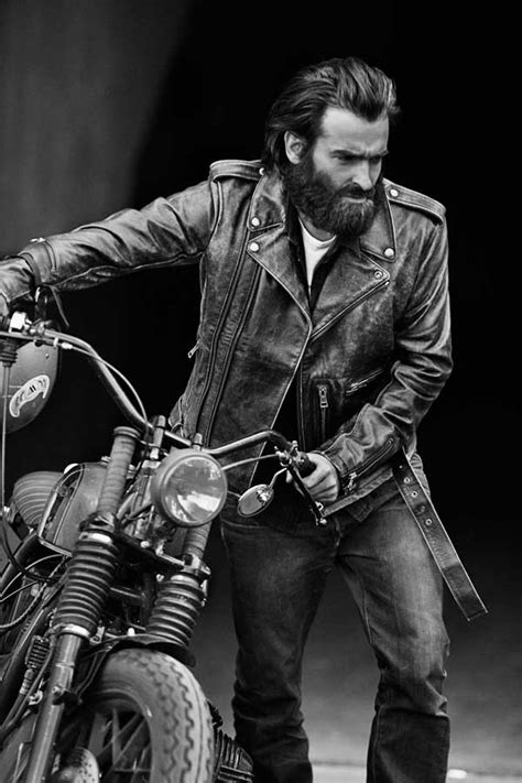 long hairstyles for a biker man edgy men s clothing and fashion 2016 men s jacket