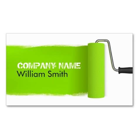 painter business card template 201 best images about painter business cards on
