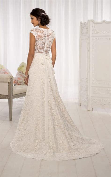 845 Line Dress wedding dresses cap sleeve wedding dresses essense of