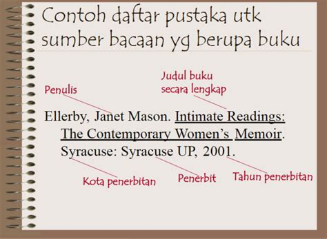 penulisan daftar pustaka kamus online cara menulis daftar pustaka dari berbagai sumber