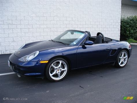 blue porsche boxster 2004 cobalt blue metallic porsche boxster 65116578 photo