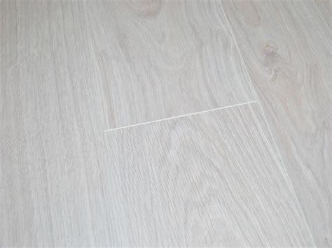 White Oak Laminate Flooring by Krono 8mm Waveless Oak White V Groove Laminate Flooring