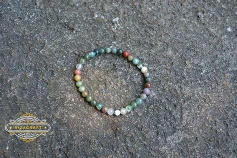 Gelang Tasbih Batu gelang tasbih batu wanita indian agate 33 171 jual gelang