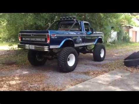 bigfoot 1 truck bigfoot 1 truck replica clone 1977 ford highboy f
