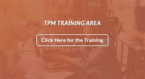 tpm study section supplemental training menu transformation prayer
