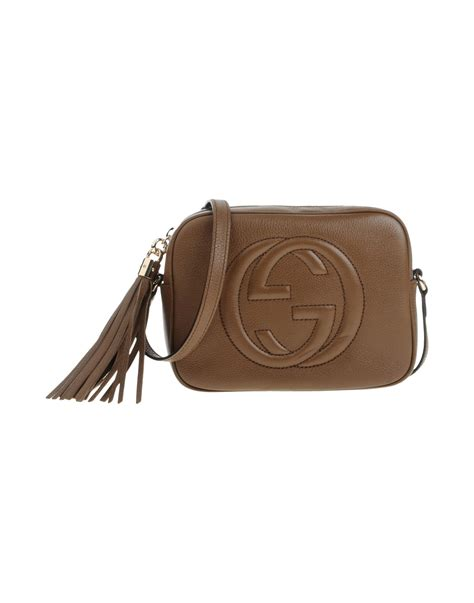 Gucci Crossbody 372180 Set 2 In 1 gucci cross bag in brown lyst