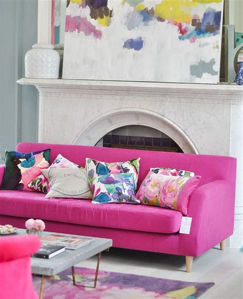 pink sofa scotland 85 best fuschia blue and chartreuse love images on