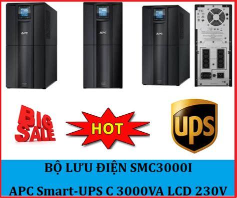 Apc Smart Ups 3000va Lcd 230v Smc3000i n譯i b 225 n apc smart ups c 3000va lcd 230v gi 225 r蘯サ nh蘯 t