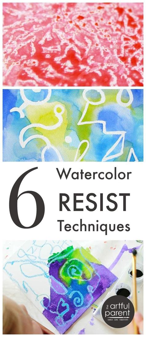 resist techniques rubber sting 6 watercolor resist techniques to try my boys boys and