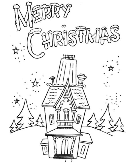 Merry Christmas Coloring Pages Free Coloring Home Merry Coloring Pages