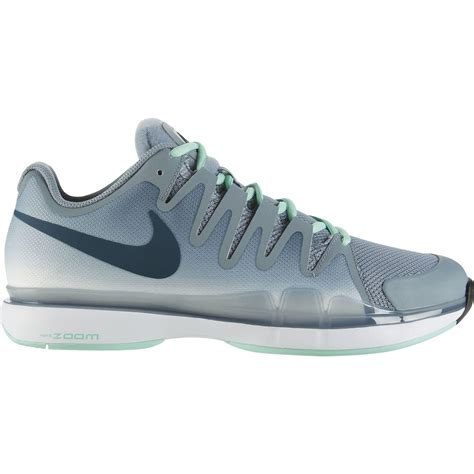 nike mens zoom vapor 9 5 tour tennis shoes grey black