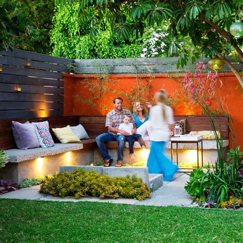 family backyard ideas all family outdoor lounge sunset