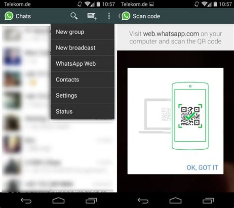 how to use whatsapp web with whatsapp android app everything you need to know about whatsapp web ghacks