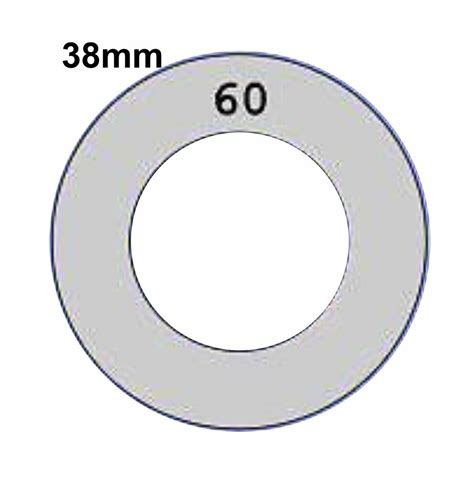 38mm Self Cover Template Use With Flat Shank Back Self Cover Buttons Tool Only Ebay Ebay Cover Photo Template