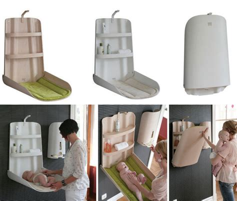 wall mounted baby changing table ikea baby furniture from bybo space saving wall mounted baby
