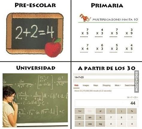 imagenes chistosas sobre matematicas las matem 225 ticas y el paso del tiempo esgag chistes