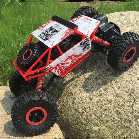 Rc Offroad Bigfoot Climber 4wd Rock Crawler 2 4 Ghz Biru rc rock crawler promotion shop for promotional rc rock