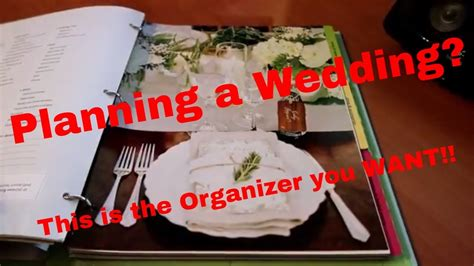 Wedding Organizer Review by The Knot Ultimate Wedding Planner Organizer Review