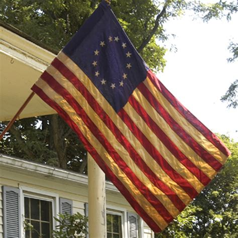 betsy ross heritage banner flag 2 5ft x 4ft cotton by