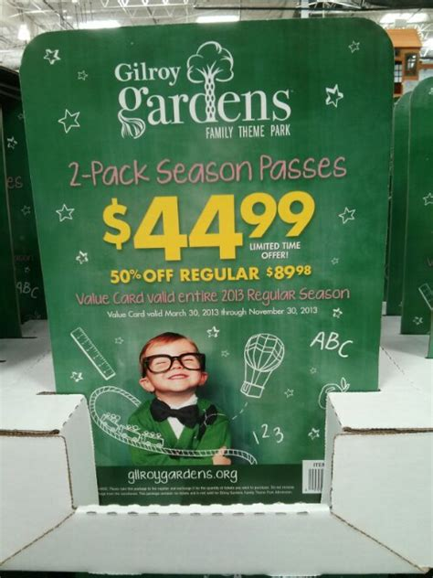 Gilroy Gardens Discount Tickets by 2013 Great America And Other Discount Admission Tickets