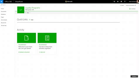 javascript portal layout new capabilities in sharepoint online team sites including
