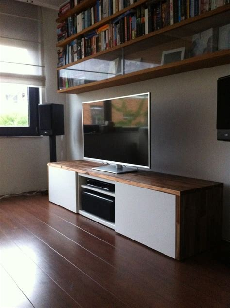 stylish tv audio cabinet ikea hackers