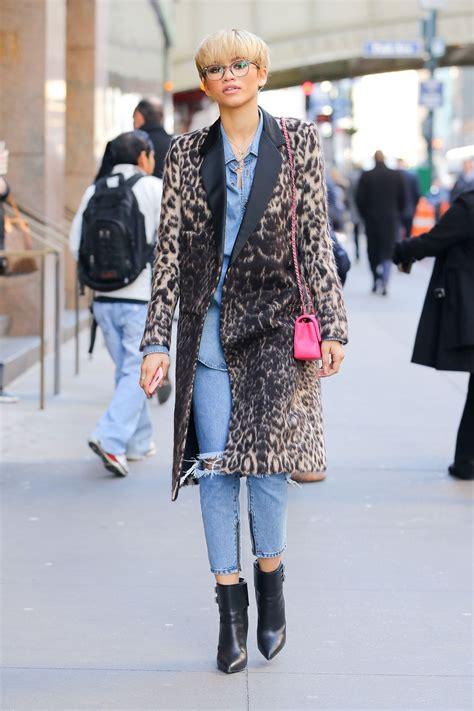 zendaya coleman street fashion    york city