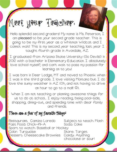Introduction Letter To Parents 25 Best Ideas About Introduction Letter On Welcome Letters Parent