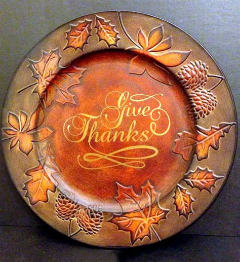 fall decorative plates unavailable listing on etsy