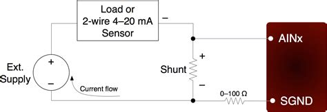 calculate resistor for 4 20ma measuring current 4 20ma app note labjack