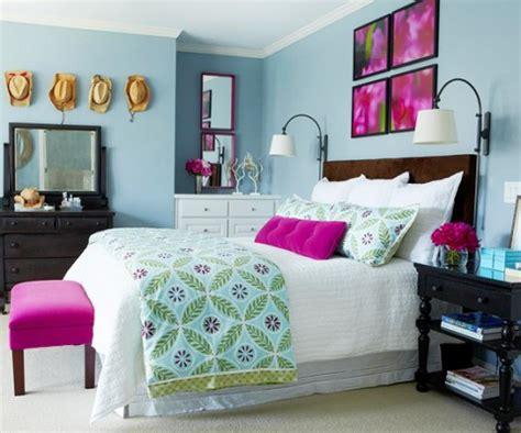 Vibrant Bedroom Paint Colors Combina El Azul Y El Rosa Para Decorar Tu Habitaci 243 N