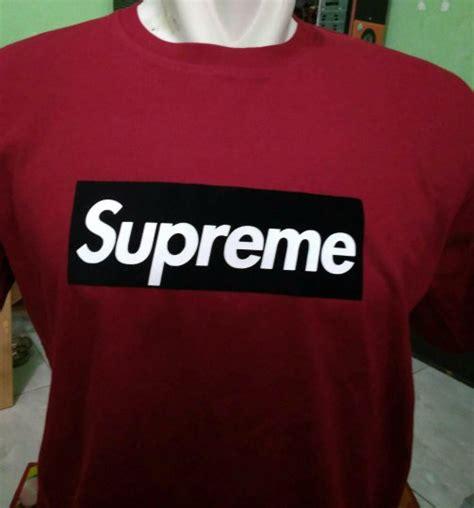 Kaos T Shirt Baju Supreme jual tshirt baju kaos supreme distro di lapak ljajic shop bocel vinda