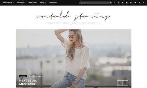 theme blog fashion wordpress 15 best wordpress themes for fashion blog of 2018 modern