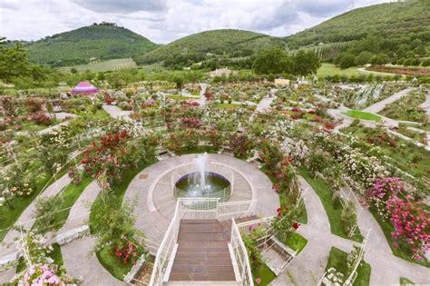 ville e giardini da visitare giardini da visitare roseto vacunae rosae a rieti ville