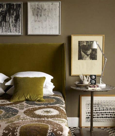 Olive Green Bedroom by Home D 233 Cor Color Trend Olive Green Home Decor Ideas