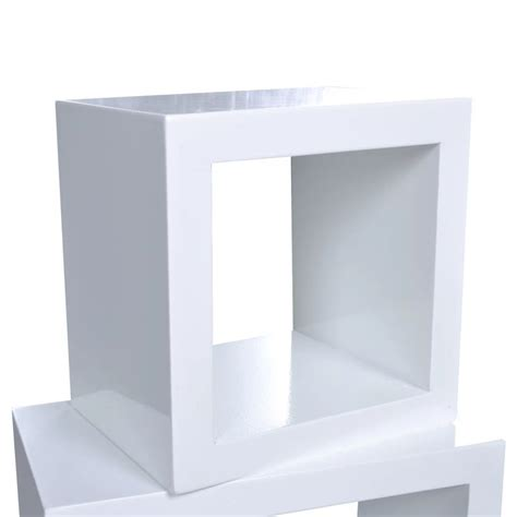 cube shelf set of 3 white www vidaxl com au