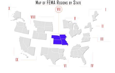 fema map fema regions map images