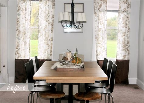 dining room curtains property captivating interior