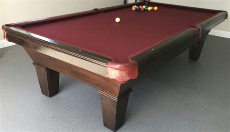 Pool Table Refelting by Pool Table Felt Installation Billiard Table Recovering