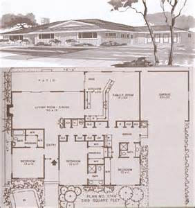 1960s ranch house plans design no plan no 3748 1960 ranch and modern homes hiawatha t estes ramblers ranches