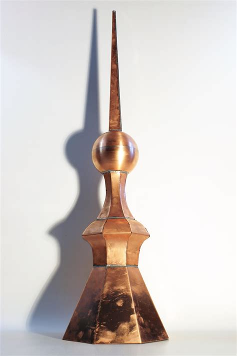 Cupola Finials octagonal cupola copper finial a home of copper