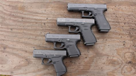 glock 17 vs glock 19 vs glock 26 size comparison of the glock 43 to the 26 19 and 17 models