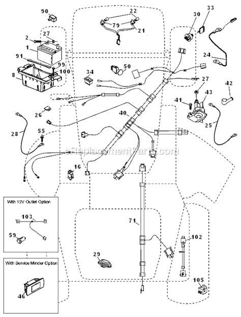 husqvarna yth  parts list  diagram ereplacementpartscom