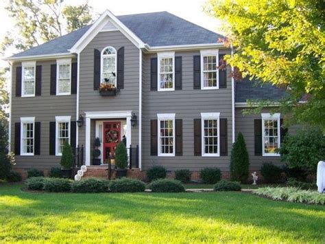 house shutter colors front door colors for gray house with black shutters