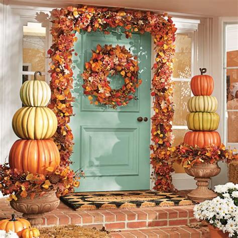 Decorating Ideas For Outside 10 Fall Porch Decorating Ideas Pretty My
