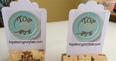 how to make cork place card holders top ate on your plate how to make wine cork place card
